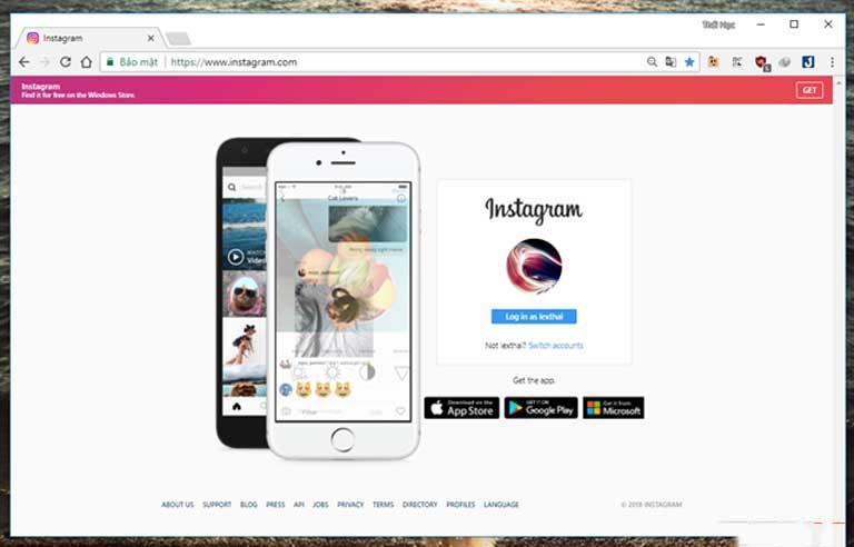 Thủ thuật: Chỉnh sửa và đăng ảnh lên Instagram bằng máy tính, laptop không cần đến điện thoại hình ảnh 03