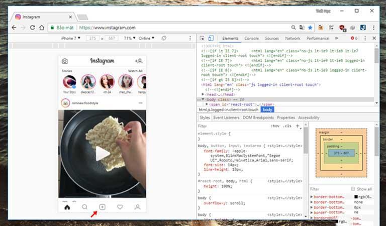 Thủ thuật: Chỉnh sửa và đăng ảnh lên Instagram bằng máy tính, laptop không cần đến điện thoại hình ảnh 07