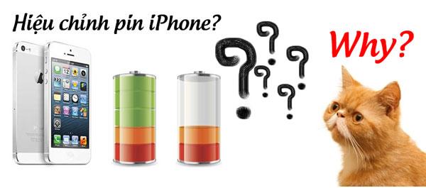 Tại sao lại hiệu chỉnh pin iPhone hình 1
