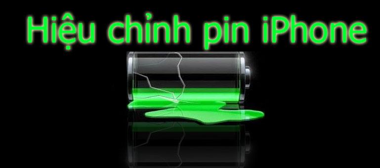 Hướng dẫn cách hiệu chỉnh pin iPhone