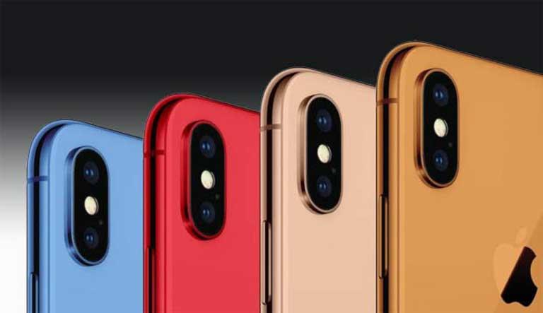 Tiết lộ hình ảnh iPhone 9 2018 sẽ có 3 màu trắng, xanh biển & đỏ, có cả khay giúp 2 SIM hình 5