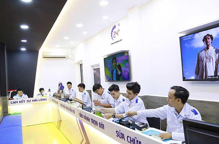Thay màn hình mặt kính cảm ứng Samsung Note 8 uy tín tại Hà Nội, HCM hình 5