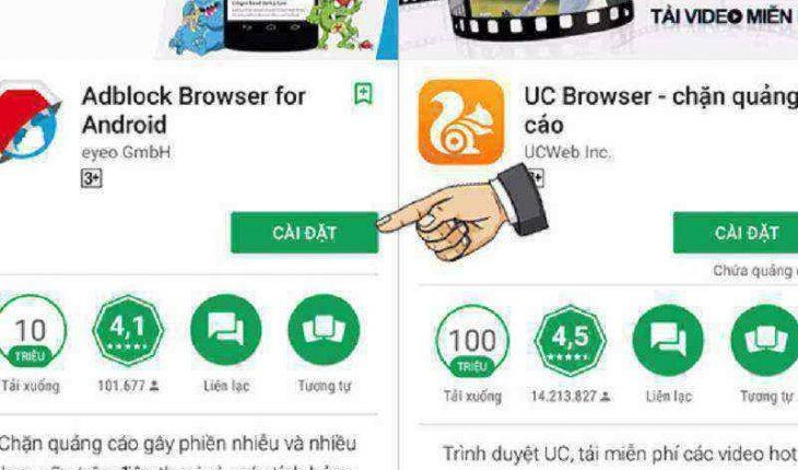 Cách chặn quảng cáo trên hệ điều hành Android