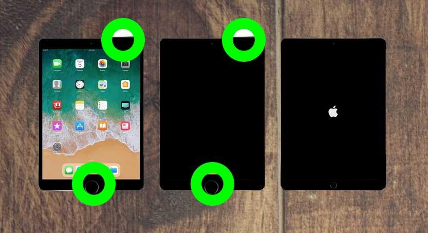 3 cách khắc phục iPad Air 1 bị màn hình trắng chết chóc 1