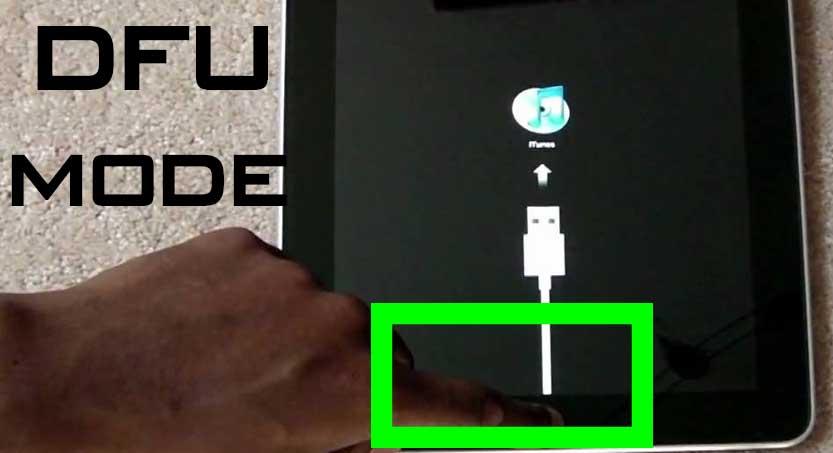 3 cách khắc phục iPad Air 1 bị màn hình trắng chết chóc hình 3