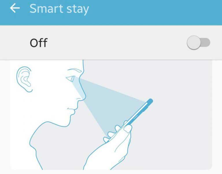 Tính năng Smart stay