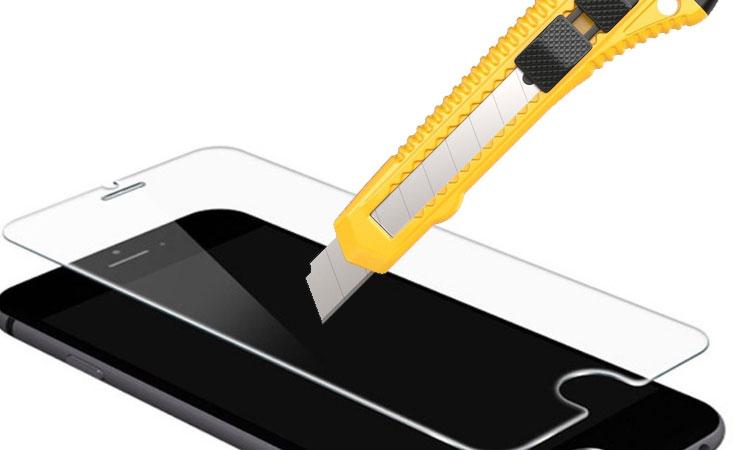 Cách chống vỡ màn hình iPhone 6 bằng kính cường lực