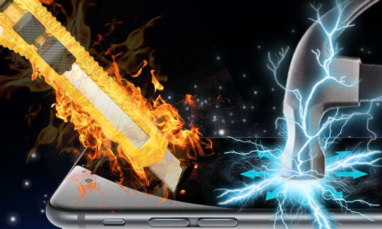 tránh vật nhọn để chống vỡ màn hình iPhone 6